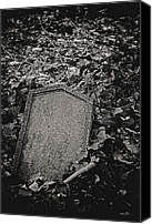 Odd Jeppesen Canvas Prints - Here Lies... Canvas Print by Odd Jeppesen