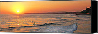 San Clemente Canvas Prints - Honey Ill Be Late For Dinner Canvas Print by Ron Regalado
