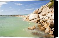 Tim Hester Canvas Prints - Horseshoe Bay South Australia Canvas Print by Tim Hester