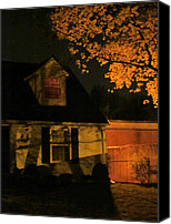 Haunted House Canvas Prints - I Had Many Nightmares Canvas Print by Guy Ricketts