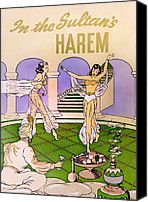 I Dream Of Jeanie Canvas Prints - In the Sultans Harem Canvas Print by Matthew Bamberg
