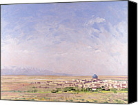 Featured Canvas Prints - Iran Canvas Print by Bob Brown