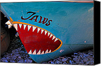 Jaws Canvas Prints - Jaws boat bow Canvas Print by Garry Gay