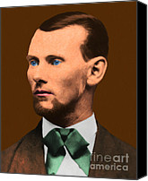 Jesse James Canvas Prints - Jesse James 20130515 Canvas Print by Wingsdomain Art and Photography