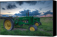 Matt Dobson Canvas Prints - John Deere Classics Canvas Print by Matt Dobson