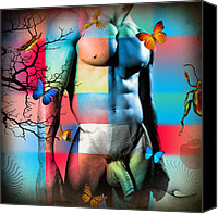 Decoration Canvas Prints - Just Like In Heaven Canvas Print by Mark Ashkenazi