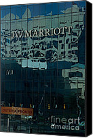 Joseph Yarbrough Canvas Prints - JW Marriott Canvas Print by Joseph Yarbrough