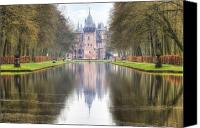Moat Canvas Prints - Kasteel de Haar Canvas Print by Joana Kruse