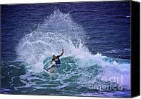 Kelly Slater Canvas Prints - Kelly Slater 2 Canvas Print by Heng Tan