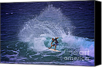 Kelly Slater Canvas Prints - Kelly Slater 3 Canvas Print by Heng Tan