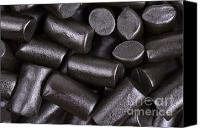 Shiny Photo Canvas Prints - Liquorice background Canvas Print by Jane Rix