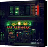 Nyc Canvas Prints - Live Bait Canvas Print by Andrew Paranavitana