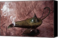 Aladdin Canvas Prints - Magic lamp Canvas Print by Garry Gay