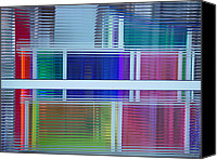 Featured Glass Art Canvas Prints - MassMoCA Glass Canvas Print by David Howe