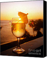 Jerome Stumphauzer Canvas Prints - Maui Wine Hawaii Canvas Print by Jerome Stumphauzer