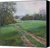Scenic Pastels Canvas Prints - McMurrys Farm Canvas Print by Jean Neely