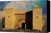 Formerly Canvas Prints - Meknes Canvas Print by Catf
