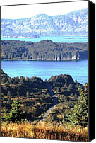 Kodiak Canvas Prints - Monashka Bay Canvas Print by Penelope Cyr-Lorenson