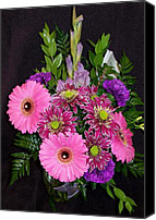 May Day Painting Canvas Prints - Mothers Day Bouquet Canvas Print by Sharon Duguay