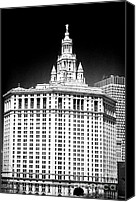 John Rizzuto Canvas Prints - Municipal Building 1990s Canvas Print by John Rizzuto