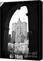 John Rizzuto Canvas Prints - New York Arches 1990s Canvas Print by John Rizzuto