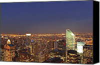 Juergen Roth Canvas Prints - New York City CitiCorp Center Canvas Print by Juergen Roth