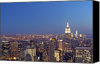 Juergen Roth Canvas Prints - New York City Canvas Print by Juergen Roth