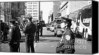 John Rizzuto Canvas Prints - NYPD 1990s Canvas Print by John Rizzuto