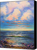 Frederick Luff Canvas Prints - Ocean Beautiful  Canvas Print by Luff  Gallery