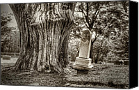 Graveyard Canvas Prints - Old Friends Canvas Print by Scott Norris