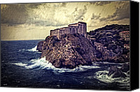 Dubrovnik Canvas Prints - On The Rock - Dubrovnik Canvas Print by Madeline Ellis