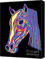 Nick Gustafson Canvas Prints - Painted Pony Canvas Print by Nick Gustafson