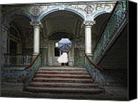 Hulk Canvas Prints - Palace Of The Forgotten Dreams Canvas Print by Joachim G Pinkawa