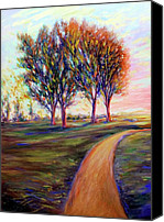 Frederick Luff Canvas Prints - Palos Verdes Park Canvas Print by Luff  Gallery