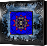 Michael Damiani Canvas Prints - Picture In Picture Canvas Print by Michael Damiani