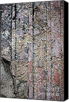 Pompeian Canvas Prints - Pompei Abstract #14 Canvas Print by Tom Griffithe