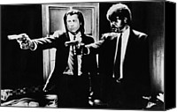 Featured Drawings Special Promotions - Pulp Fiction Canvas Print by Movie Prints