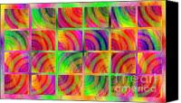 Colorfull Canvas Prints - Rainbow Bliss 3 - Over the Rainbow H Canvas Print by Andee Photography