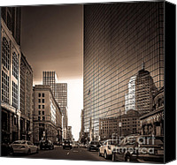 Skyline Photo Special Promotions - Reflection  Canvas Print by Pro Shutterblade