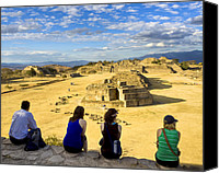 Mark Tisdale Canvas Prints - Remembering The Cloud People in Oaxaca Canvas Print by Mark E Tisdale
