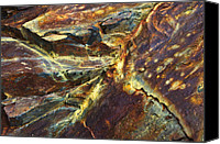 Natural Abstract Canvas Prints - Rock Texture 27 Canvas Print by ABeautifulSky  Photography