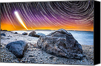 Startrails Digital Art Canvas Prints - Rockstars Canvas Print by Ryan Moore