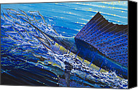 Grouper  Canvas Prints - Sail on the Reef Canvas Print by Carey Chen