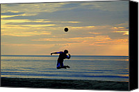 Sports Photo Canvas Prints - Serves Up.. Canvas Print by A Rey