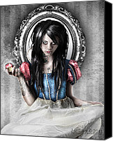 Featured Canvas Prints - Snow White Canvas Print by Judas Art