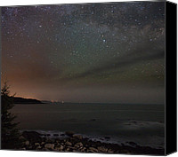 Brent L Ander Canvas Prints - Stars over Acadia 2724 Canvas Print by Brent L Ander