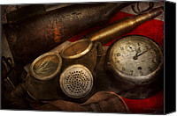 Mike Savad Canvas Prints - Steampunk - War - Remembering the war Canvas Print by Mike Savad