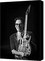 Music Photo Canvas Prints - Steve Vai live at The Pabst Theater 3 Canvas Print by The  Vault