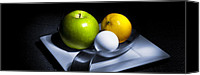 Featured Canvas Prints - Still Life Eclectic 2 Canvas Print by Cecil Fuselier