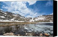 National Photo Special Promotions - Summit Lake in the Spring Canvas Print by Colleen Coccia